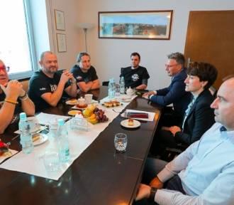 Jurek Owsiak spotkał się z organizatorami WOŚP w Lubuskiem
