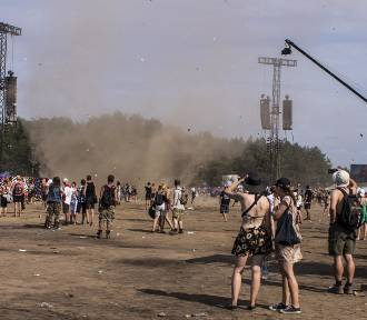 """Tornado na Pol'and'Rock Festival 2018. Uważajcie na """"trąby powietrzne"""" [ZDJĘCIA]"""