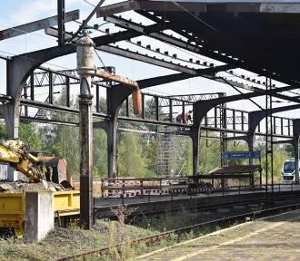 Peron 5 zamknięty dla podróżnych, remont dworca w Legnicy! [ZDJĘCIA]