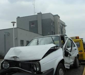 Wypadek w Pstrokoniach