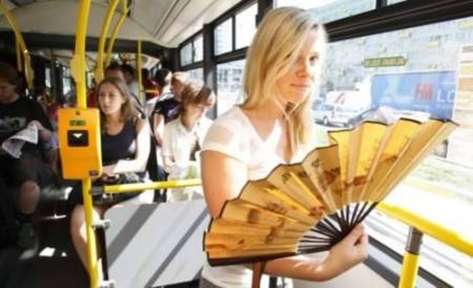 Wrocławianka Elwira Kaśków w autobusie z pl