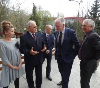 Wizyta wicepremiera Jarosława Gowina [ZDJĘCIA