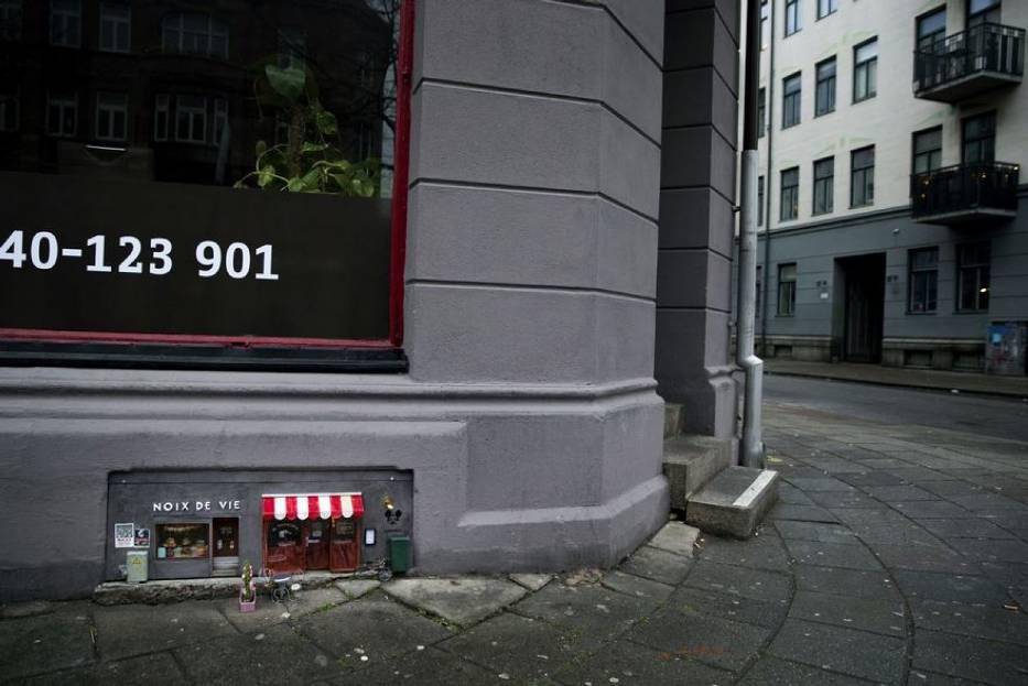 W Szwecji powstała malutka knajpa dla... myszy. Zobaczcie zdjęcia!