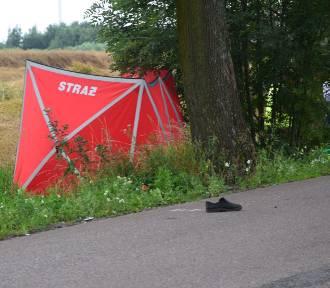 Wypadek w Lubieszewie. Samochód śmiertelnie potrącił rowerzystę