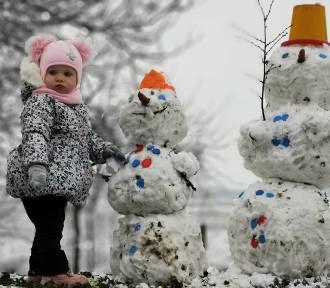 Jest śnieg, więc są bałwany! Dla dzieci to prawdziwy hit ferii ZDJĘCIA