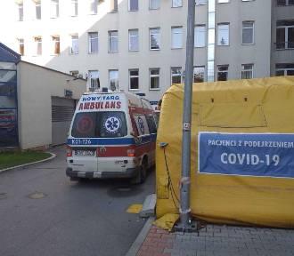 Covid-19 na Podhalu. Do szpitali trafili chorzy. Jedna z pacjentek w stanie ciężkim