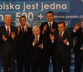 Prezes PiS Jarosław Kaczyński w Zduńskiej Woli [zdjęcia]