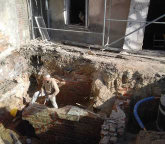 Odkryto podziemny obiekt w Kraśniku. Zobacz zdjęcia z prac badawczych