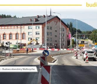 Wrzesień 2021 na budowie obwodnicy Wałbrzycha. Zobaczcie, co się zmieniło