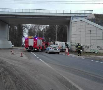 Tomaszowianin zginął w wypadku koło Małoszyc [ZDJĘCIA]