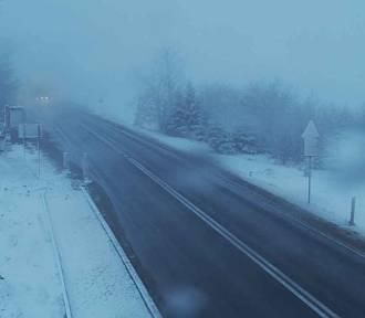 Śnieg będzie padać w południowej Małopolsce