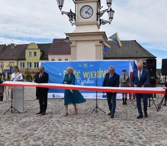 Lwówek: Oficjalne otwarcie zrewitalizowanego Rynku