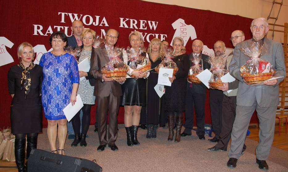 Krwiodawcy powiatu puckiego 2015