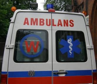 Kobieta zasłabła w tramwaju. Przewieziono ją do szpitala