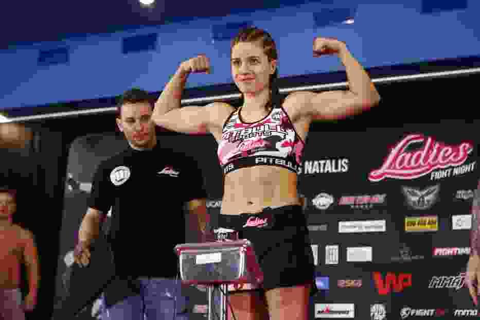 Gala Ladies Fight Night w Karpaczu 2016. Zobaczcie zdjęcia z oficjalnego ważenia [GALERIA]