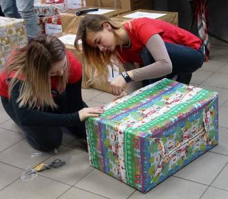 Przechlewo. Szlachetna Paczka  - 24 zestawy prezentów trafiło dla potrzebujących