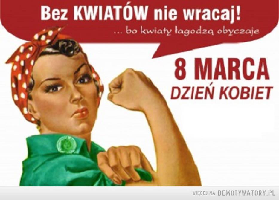Znalezione obrazy dla zapytania dzień kobiet śmieszne