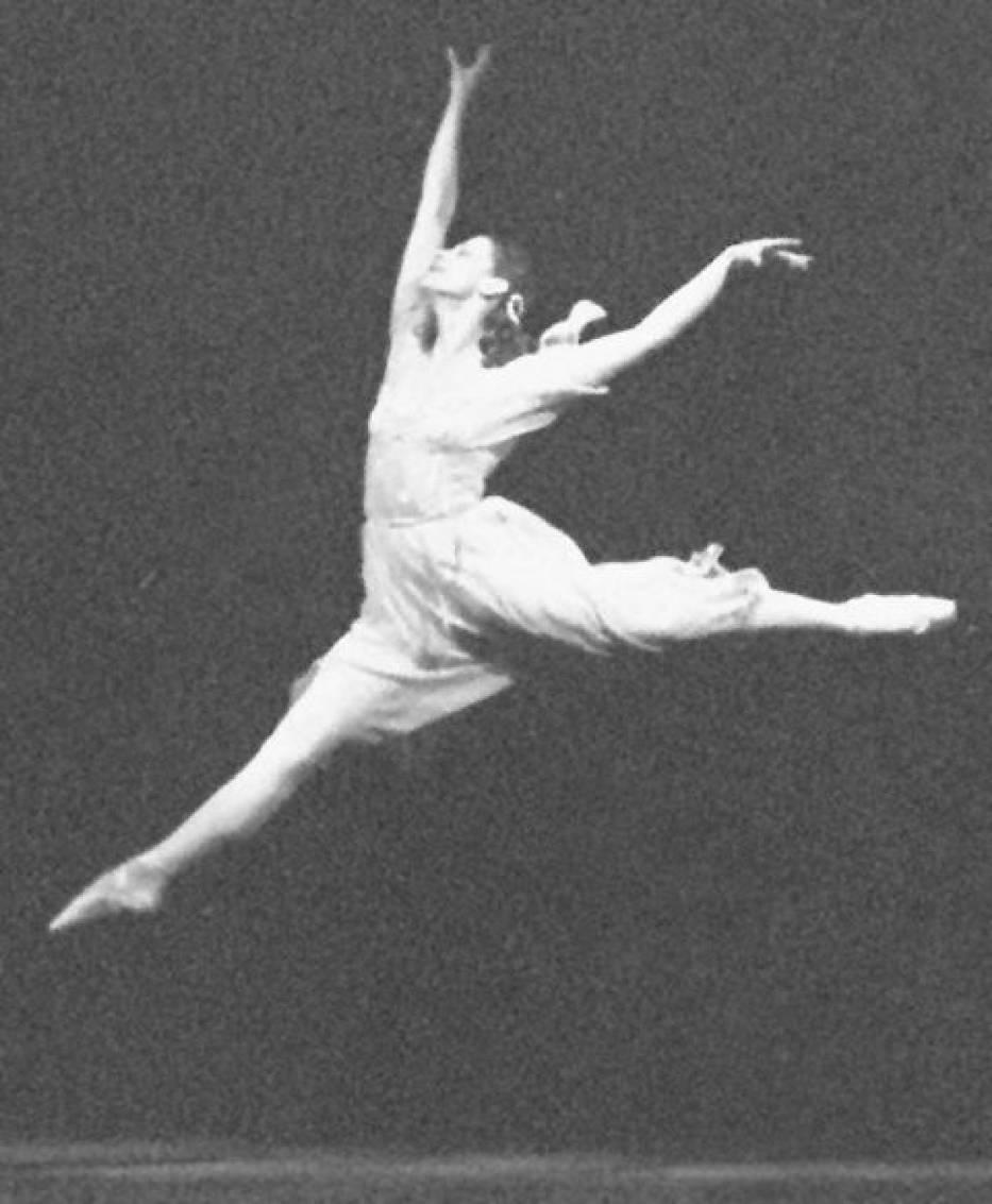 Maja Plisiecka w balecie Romeo i Julia Prokofjewa (1961 r