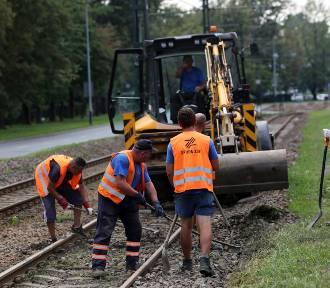 Kraków. Czas ostatnich remontów torów tramwajowych