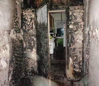 Spowodowali pożar kamienicy w Braniewie podpalając materac? Ewakuowano 20 mieszkańców