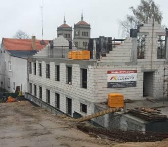 Rozbudowa urzędu gminy w Szamocinie - zdjęcia