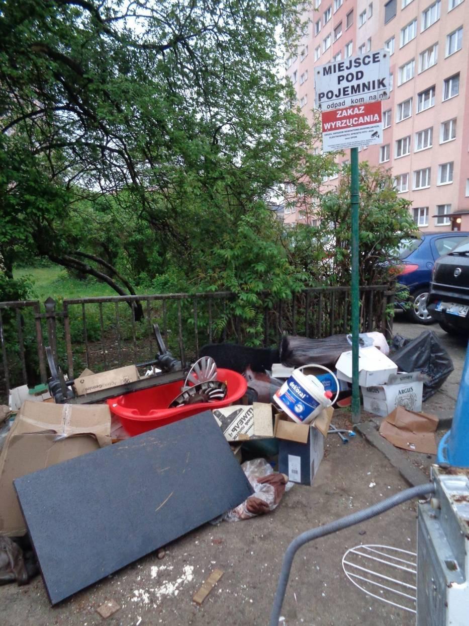 Miasto Kalisz reaguje na problem zwiększonej liczby odpadów. Postawi dodatkowe pojemniki