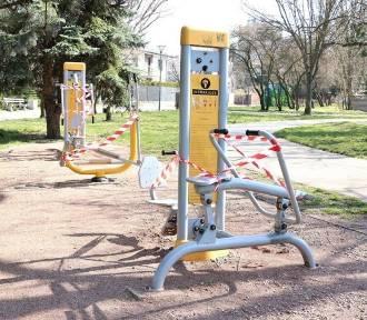 Koronawirus. Kielce. Place zabaw i siłownie zewnętrzne zamknięte z powodu epidemii! (WIDEO,