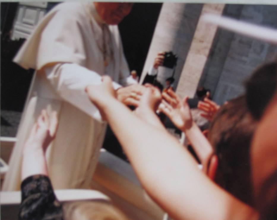 Spotkanie z Janem Pawłem II w Watykanie (maj 1997 r