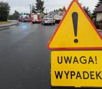 Wypadek w Rudnikach. Potrącenie pieszego na ulicy Częstochowskiej