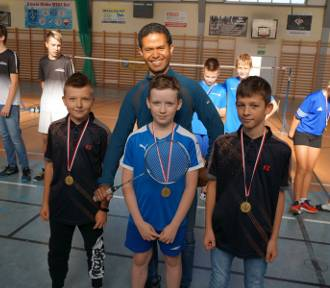 UKS Bliza Władysławowo na badmintonowych turniejach | ZDJĘCIA
