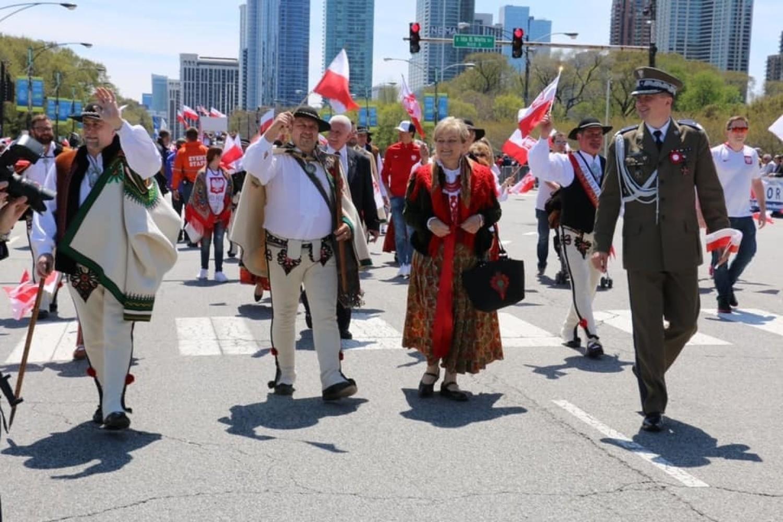 Ostatnia parad w Chicago w okazji święta konstytucji 3 maja
