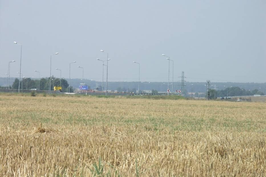 Tereny wzdłuż autostrady A4