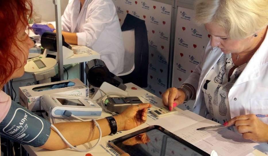 Z badań podczas Światowych Dni Serca korzystają tysiące osób