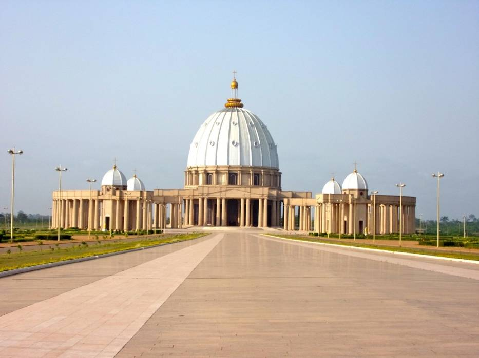 Włoska bazylika na Wybrzeżu Kości Słoniowej