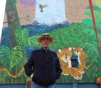 Artysta z Salwadoru namalował mural w Radomiu. ZDJĘCIA