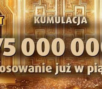 Eurojackpot  wyniki 23.03.2018. Eurojackpot Lotto - losowanie na żywo 23 marca 2018 - 75 mln zł