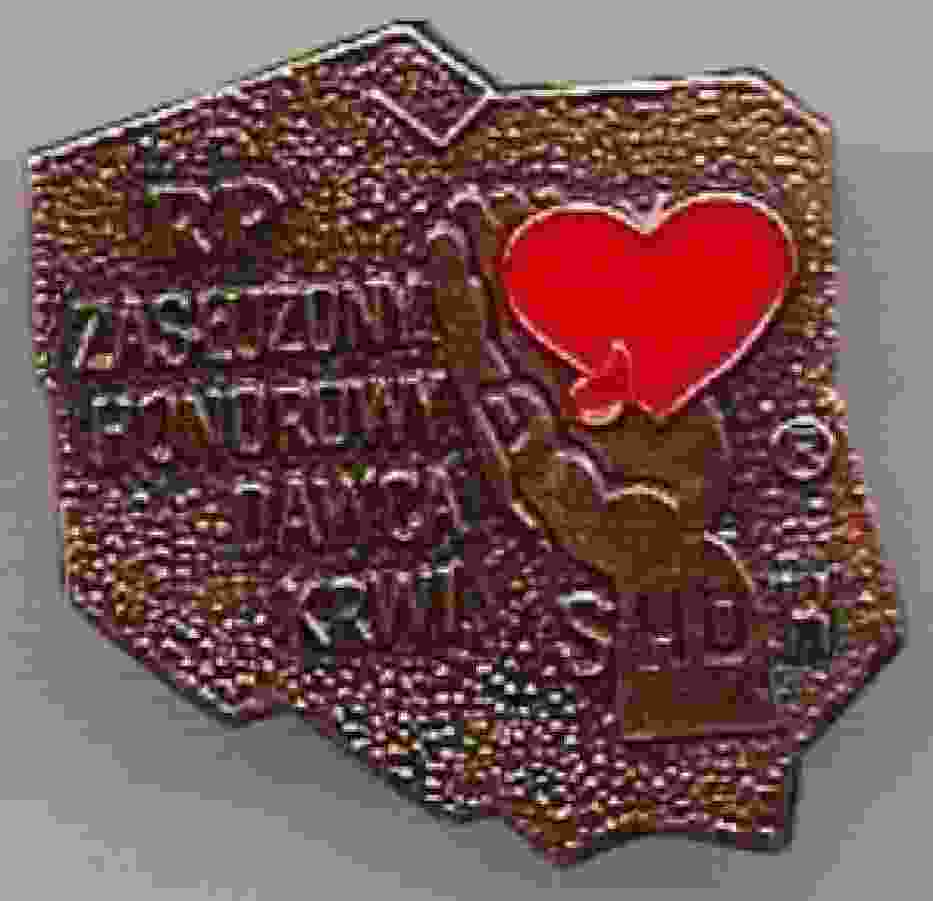 Odznaczenie ZHDK przyznawane przez Stowarzyszenie Honorowych Dawców Krwi RP