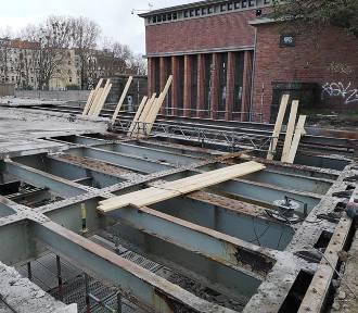 Wrocław. Z mostu Pomorskiego został szkielet [NOWE ZDJĘCIA]