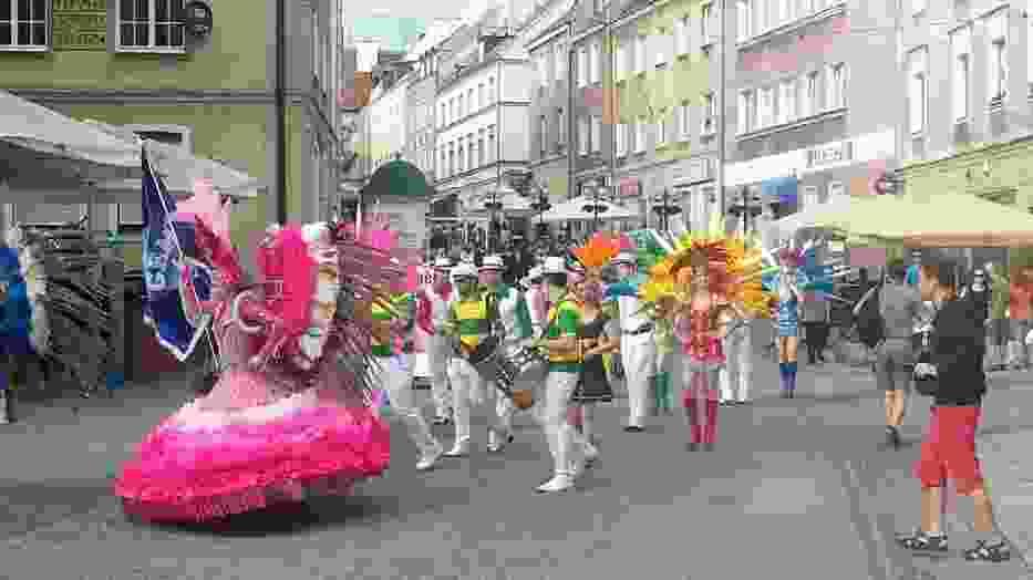 Dni folkloru w Olsztynie