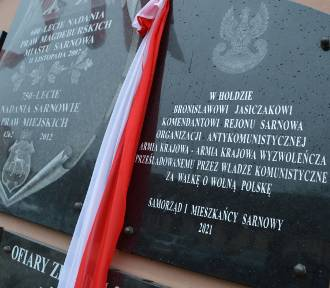 Odsłonili tablicę upamiętniającą komendanta organizacji antykomunistycznej