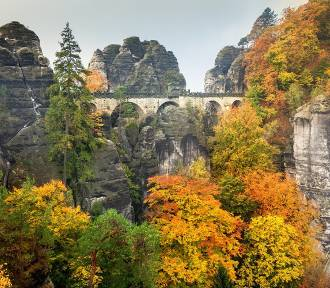 Widoki jak nie z tego świata? Saksonia Szwajcarska poleca się na jesień