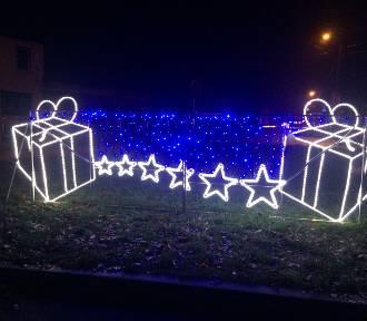 Dekoracje świąteczne w Rajgrodzie. Skromnie, ale ładnie (zdjęcia)