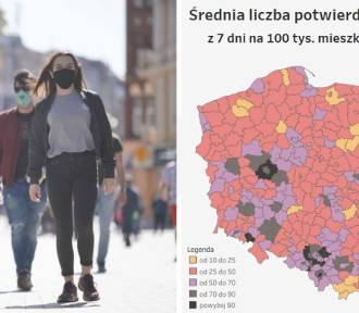 Koronawirus w Śląskiem. Gdzie sytuacja jest najtrudniejsza?