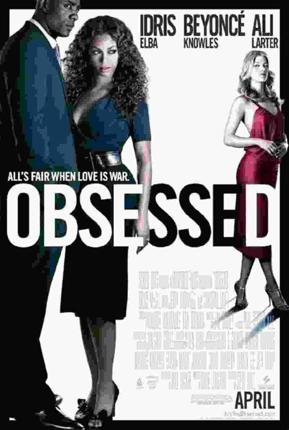 """Plakat filmu """"Obsessed"""""""