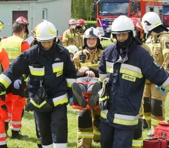 Wielkie ćwiczenia służb ratowniczych w Akademii Kaliskiej. ZDJĘCIA