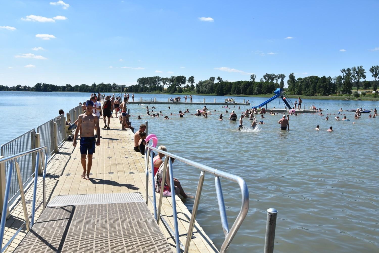 Dzięki inwestycjom kąpielisko w Wąsoszu w ubieglym roku zmieniło się nie do poznania