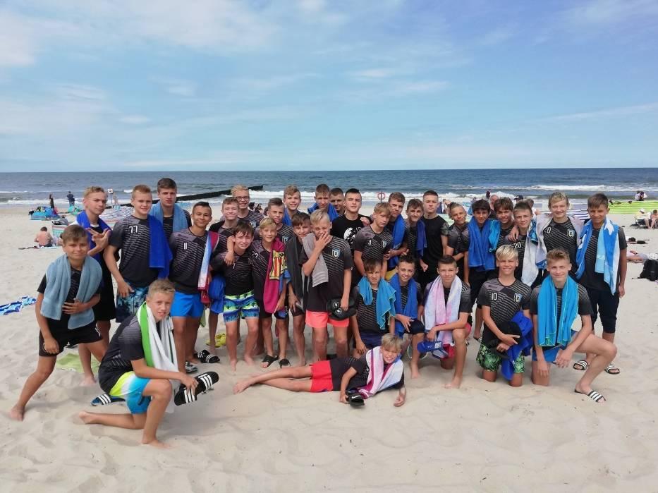 Piłkarze MUKS CWZS do nowego sezonu przygotowywali się na zgrupowaniu w Niechorzu