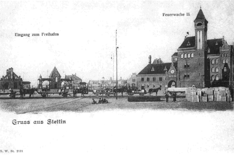 Wejście główne do dawnego portu wolnocłowego