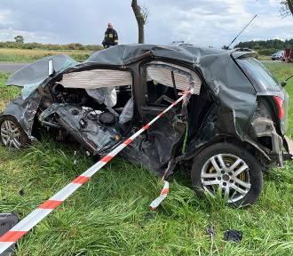Śmiertelny wypadek na trasie do Białośliwia. Jedna osoba nie żyje!