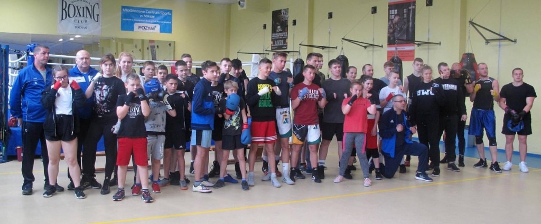 """Klub Sportowy """"Obra"""" - Sparingi bokserskie.  Poznań 4 maja 2019 r."""